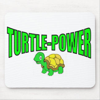 Turtle Power Mouse Pad