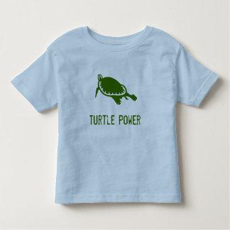 Turtle Power toddler shirt