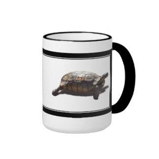 Turtle Racer #8 Ringer Coffee Mug