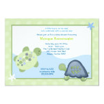 Turtle Reef Baby Shower Invitation - Light Green