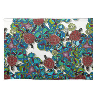 turtle reef cloth place mat