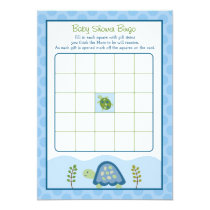 Turtle Reef Sea Turtle Baby Shower Bingo Cards
