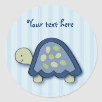 Turtle Reef Turtle Stickers Envelope Seals