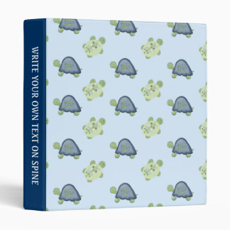 Turtle Reef Turtles Custom Avery Binder