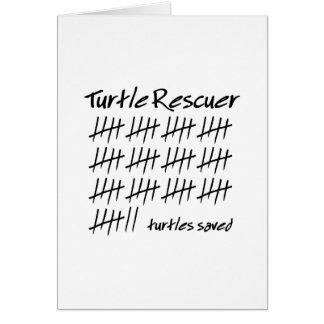 Turtle Rescuer Card