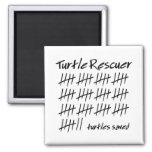 Turtle Rescuer Refrigerator Magnet
