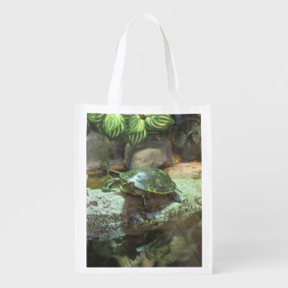 Turtle Reusable Grocery Bag