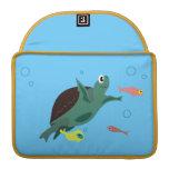 Turtle Rickshaw Flap Sleeve MacBook Pro Sleeve