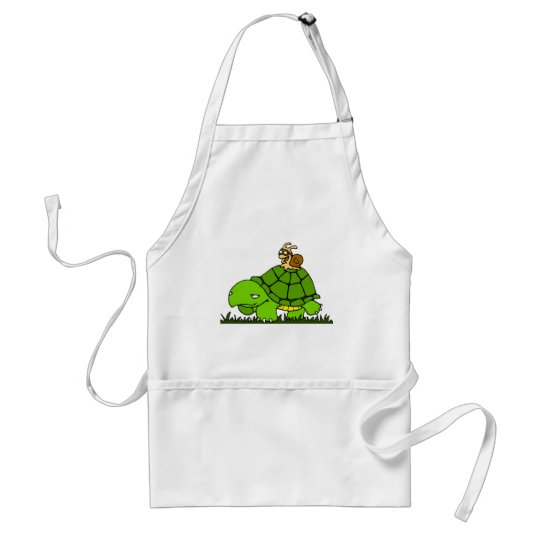 Turtle ride adult apron