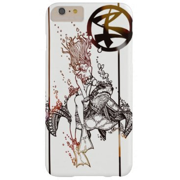 pacificstain Turtle Ride Barely There iPhone 6 Plus Case