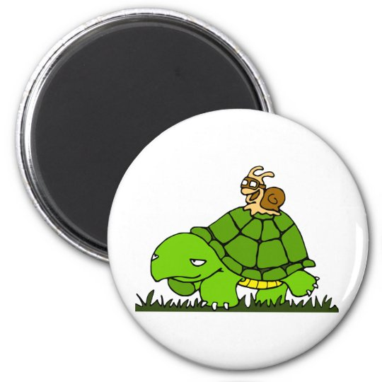 Turtle ride magnet