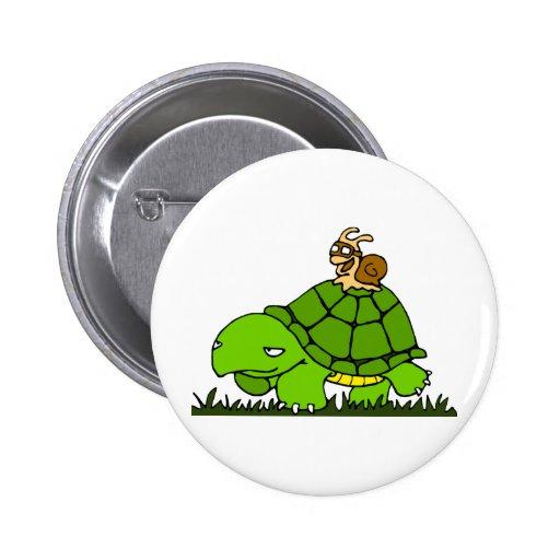 Turtle ride pin