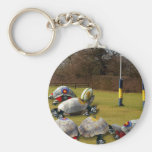Turtle Rugby Keychains