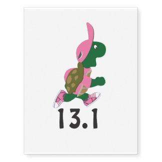 Turtle Runner 13.1 Temporary Tattoos