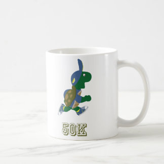 Turtle Runner 50K - blue Coffee Mug