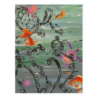 Turtle Sea Postcard