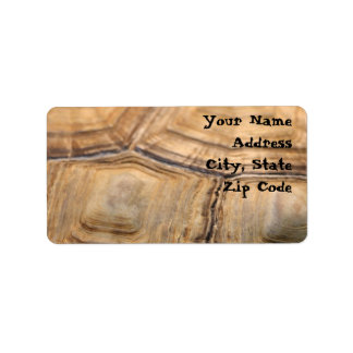 Turtle Shell Address Labels