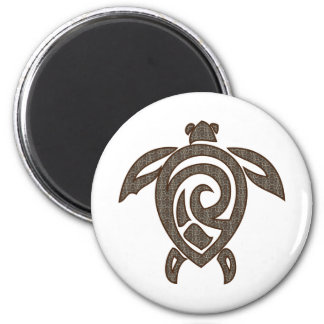 Turtle-shell-print Magnet