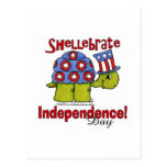 Turtle Shellebrate Independence Day! Post Cards