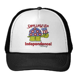 Turtle Shellebrate Independence Day! Trucker Hat