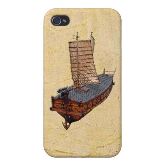 Turtle Ship iPhone 4/4S Hard Shell Case iPhone 4 Case
