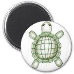 Turtle Sketch Fridge Magnets