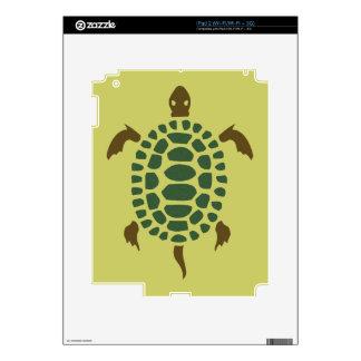 Turtle iPad 2 Decals