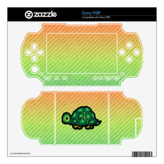 Turtle Decal For Sony PSP