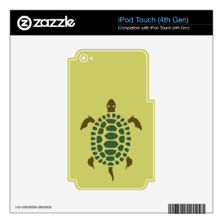 Turtle Skins For iPod Touch 4G