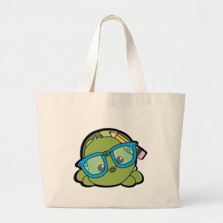 Turtle Smarty Large Tote Bag