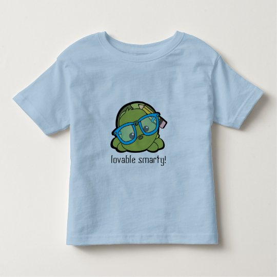Turtle Smarty Toddler T-shirt