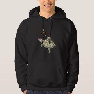 turtle & snail Christmas Hoodie