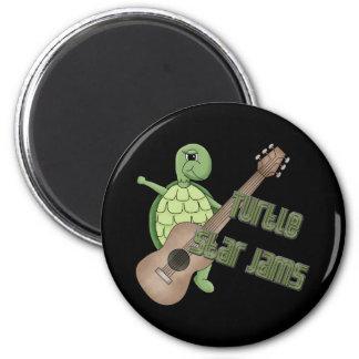 Turtle Star Jams 2 Inch Round Magnet
