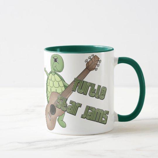 Turtle Star Jams Mug