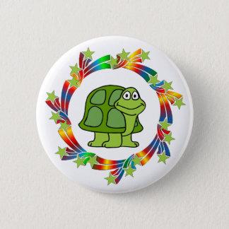 Turtle Stars Pinback Button