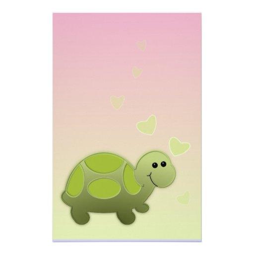 Turtle Stationery Design