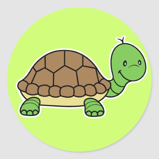 Turtle sticker