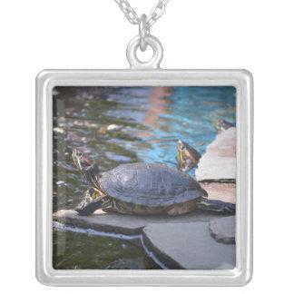 turtle sunning himelf custom jewelry