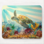 TURTLE SWIM MOUSE PADS