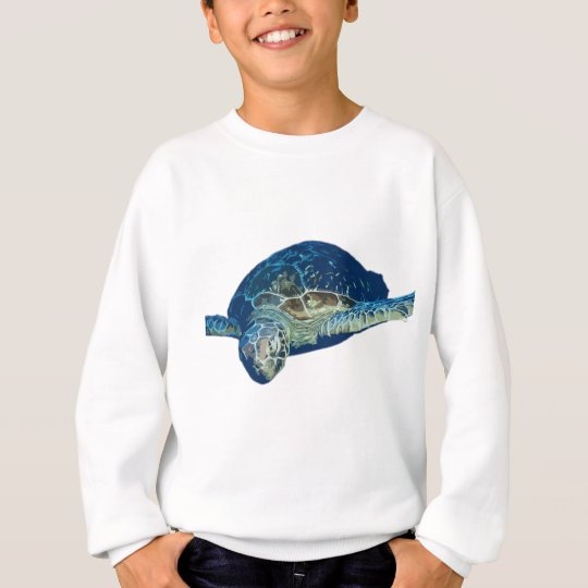 Turtle swim sweatshirt