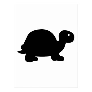 Turtle symbol postcard