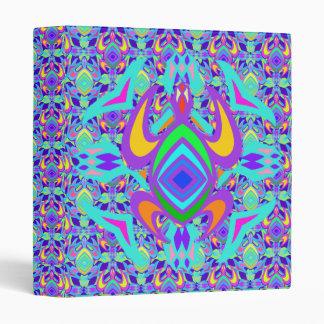 """Turtle Symmetry Pattern 1"""" Art Binder"""