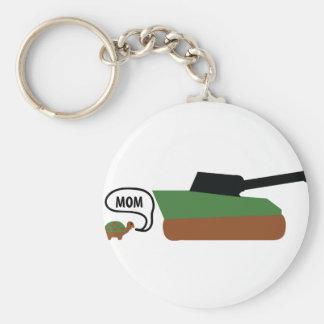 turtle tank mom keychain