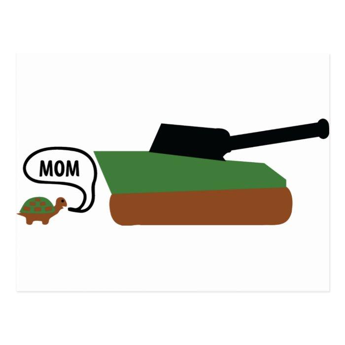 turtle tank mom postcard
