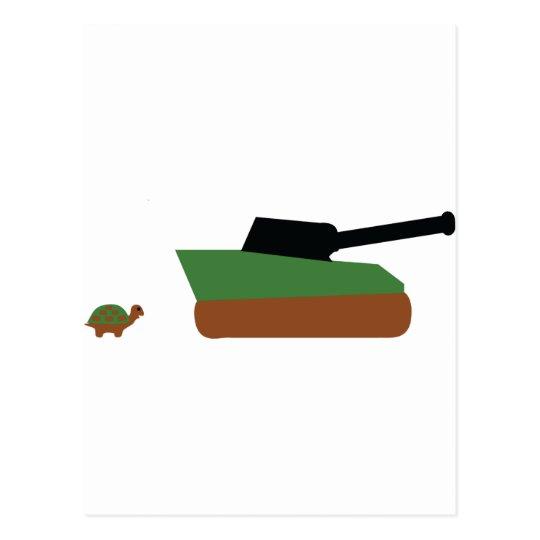 turtle tank postcard