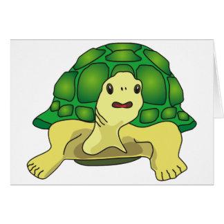 Turtle Tarjeta De Felicitación