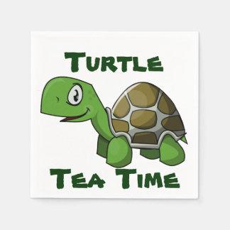 Turtle Tea Time Napkin Disposable Napkins