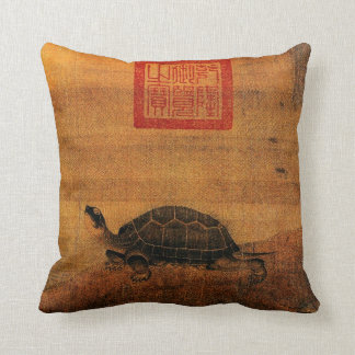 Turtle Throw Pillow