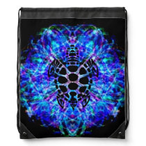 Turtle Tie Dye Drawstring Backpack