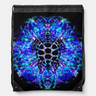 Turtle Tie Dye Drawstring Backpack
